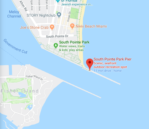 South Pointe Map