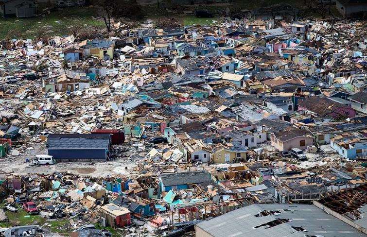 Bahamas after Dorian